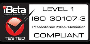 iBeta Level 1 PAD - ISO 30107