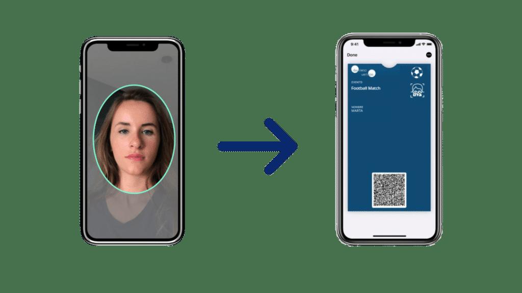 QR biometrico